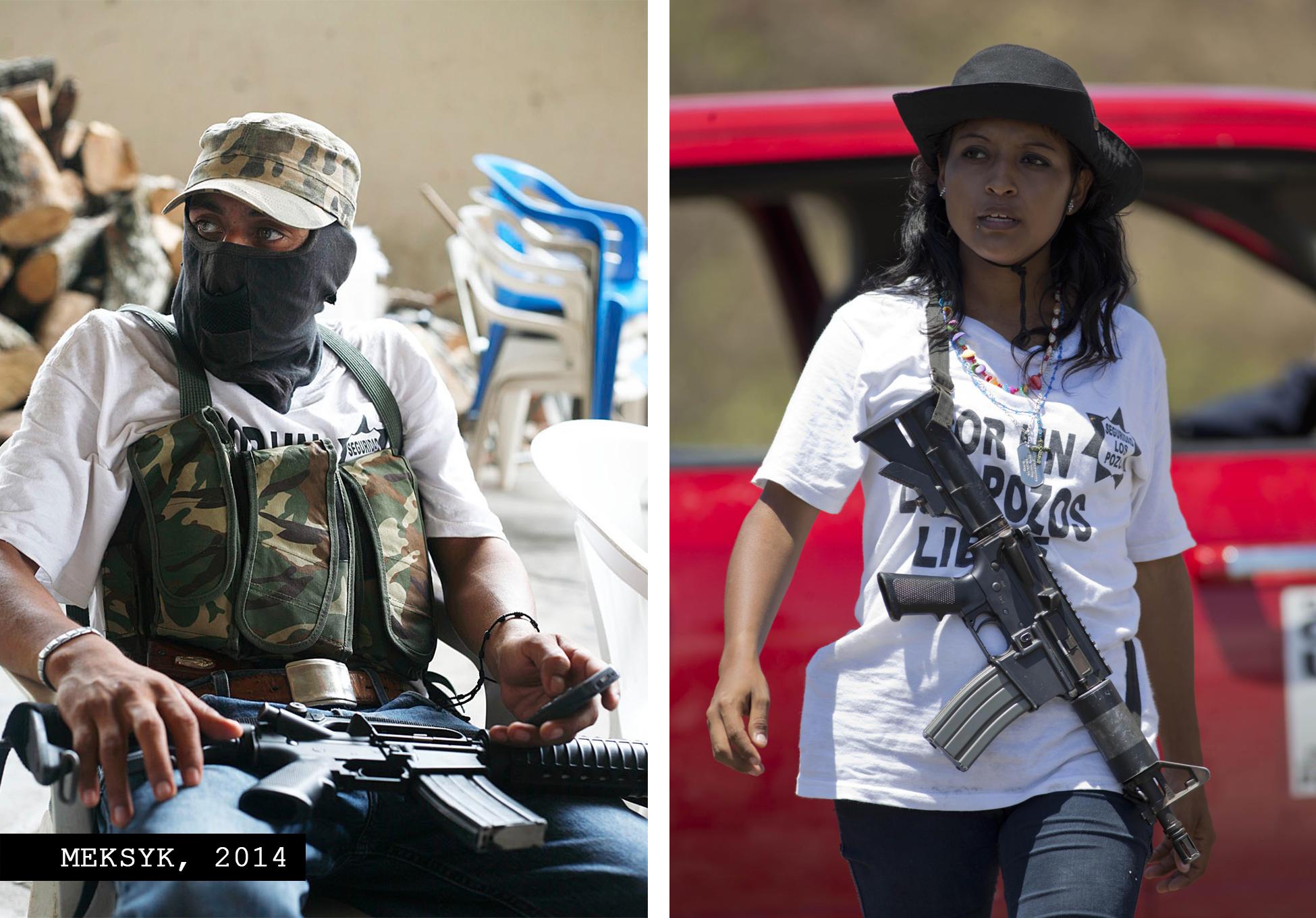 Mexican vigilantes