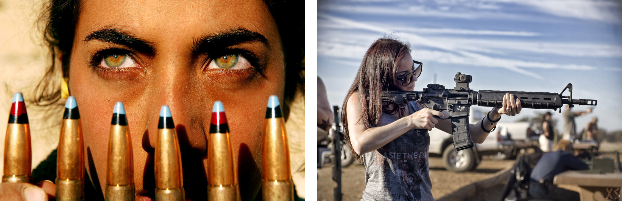 women_guns_bullets