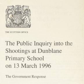 Masakra w Dunblane i raport Cullena