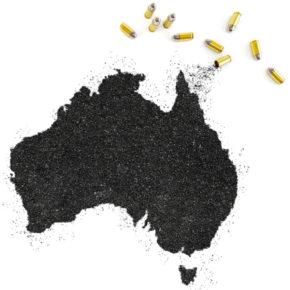 Broń palna w Australii