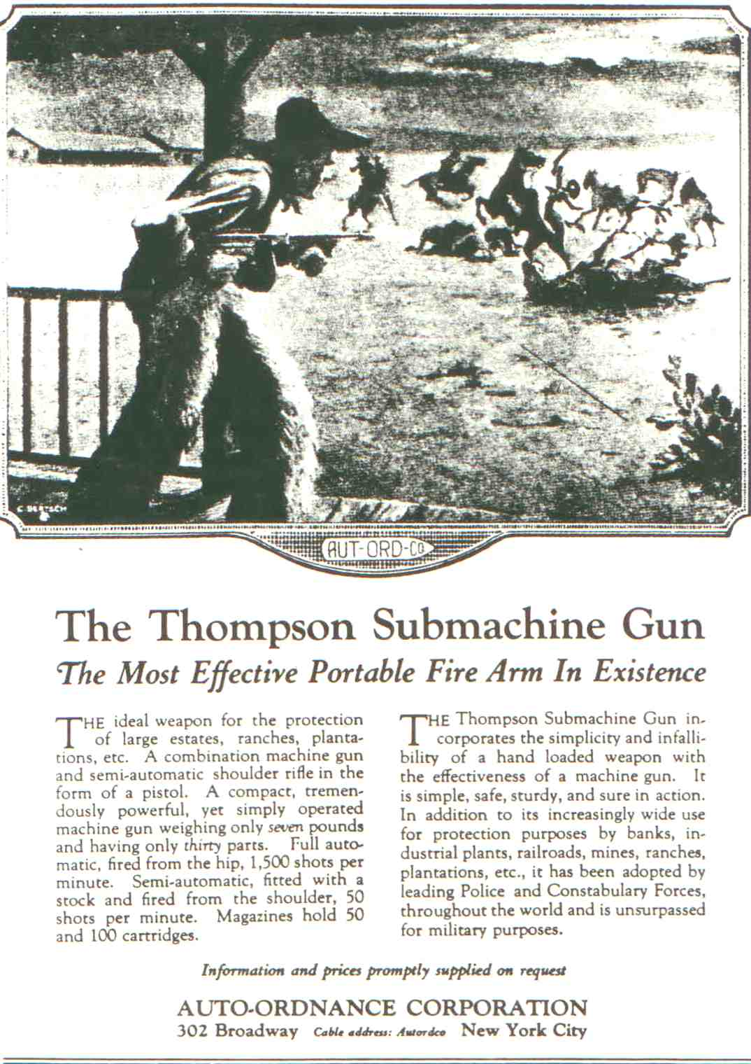 the thompson sumbmachine gun