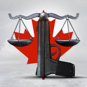 Reglamentacja broni palnej i wskaźniki przestępczości w Kanadzie
